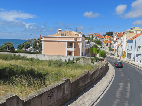 Town on the Portuguese Coast