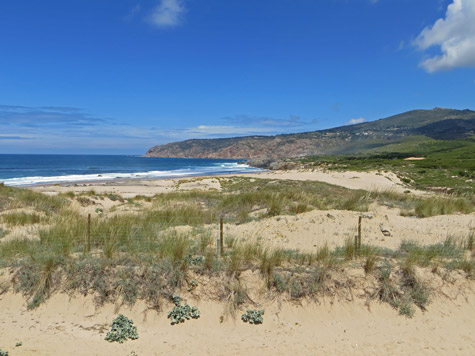 Atlantic Coast Beach in Portugal