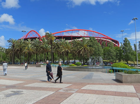 Estadio da Luz, Lisbon Portugal