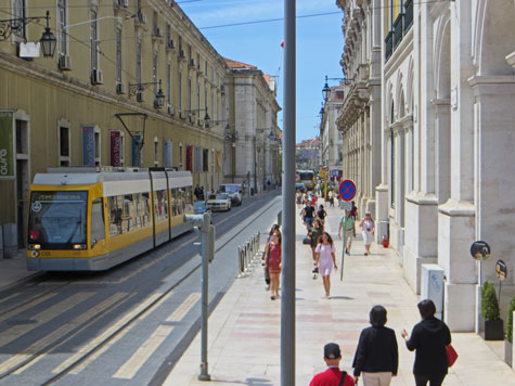 Public Transportation in Lisbon Portugal