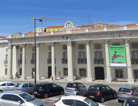 Meseu Militar in the Alfama District of Lisbon